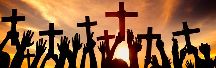 sunset-crosses