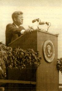 JFK-podium